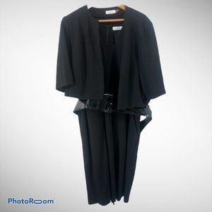 Calvin Klein 18w Dress Jacket Set